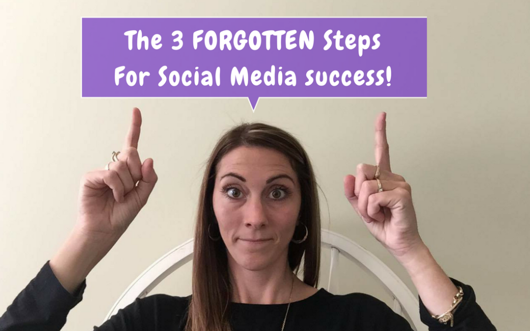 The 3 Forgotten Steps For Social Media success